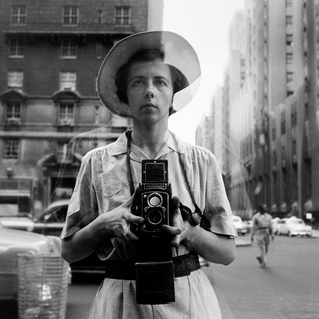 self portrait photographer vivian maier