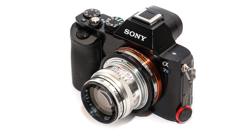 Sony A7s with Jupiter-3 50mm 1.5 and VM-E close focus adapter (Helicoid)