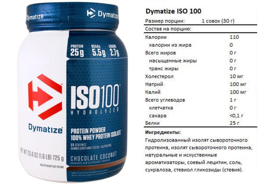 Iso 100 от Dymatize Nutrition