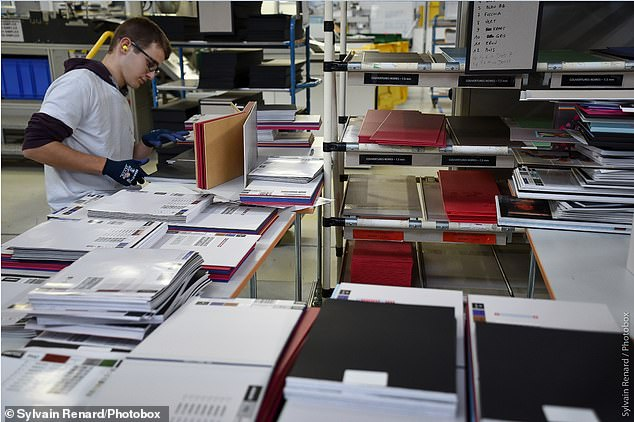 A massive 18,000 - 21,000 photo books are made every single day in the run up to Christmas