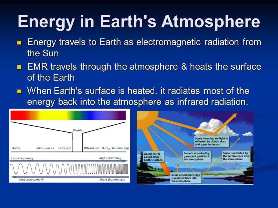 Energy in Earth s Atmosphere