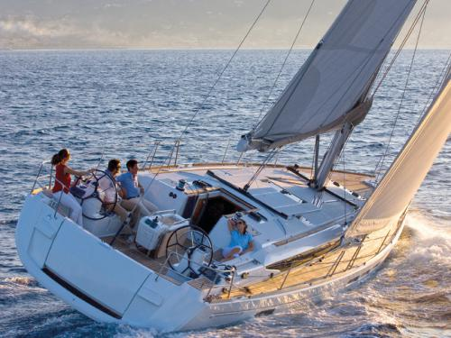 Sailing yacht Sun Odyssey 479 for rent in Arrecife