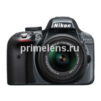 Nikon D3300 Kit 18-55 mm VR AF-P Black